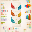 Set of Info graphics elements. Vector illustration — Stock Vector #34111071