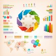 Set of Info graphics elements. Vector illustration — Stock Vector #34503293