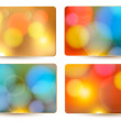 Colorful holiday abstract backgrounds. Vector illustration. — Stock Vector