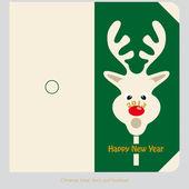 Christmas-greeting card — Stock Photo