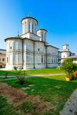 Horezu monastery in Romania — Stock Photo