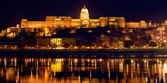 The royal castle in Budapest, Hungary — Stock Photo