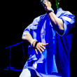 Постер, плакат: BUCHAREST JUL 14: Rap artist 50 Cent performs during a concert