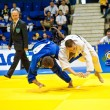 Stock Photo: Contestants participate in Judo World Cup Men