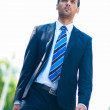 Royalty-Free Stock Photo: Young business man walking