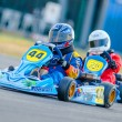 Pilots competing in National Karting Championship 2012 - Stok fotoğraf