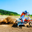 Stock Photo: Young rider participates in Fourth National Endurocross Championship