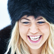 Winter women close up portrait — Stock Photo #13906212