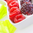Foto Stock: Fresh berry fruits
