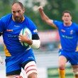 Rugby players compete during Romania vs South Africa — Stock Photo