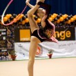 Постер, плакат: Gymnast during the Irina Deleanu Orange Trophy