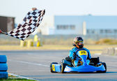 Ational Karting Championship 2012 — Stock Photo