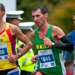 Runners competes at the Bucharest International Marathon 2011 — Stock Photo #14572687