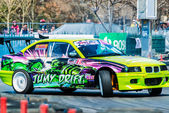 Romania's National Championship Drift 2012 — Stock Photo