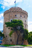 White Tower in Thessaloniki,Greece — Fotografia Stock