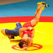Junior Wrestling World Championship — Stock Photo