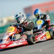 Stock Photo: Pilots competing in National Karting Championship 2012