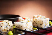 Traditional Japanese food — Stock Photo