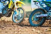 Czwarte mistrzostwa krajowe endurocross — Zdjęcie stockowe