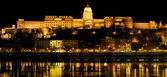 The royal castle in Budapest, Hungary — Stockfoto