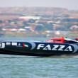 Stock fotografie: Boat of team Fazza