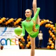 Gymnast during the Irina Deleanu Orange Trophy — Stock Photo