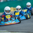 Stock Photo: Pilot competing in National Karting Championship 2012