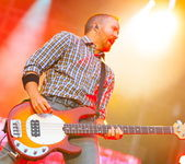 Linkin Park performs — Stock Photo