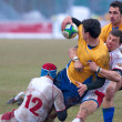 Rugby players — Stock Photo