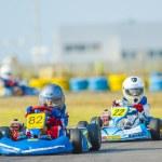 ������, ������: Kart pilots competing