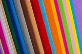 彩色纸 — 图库照片
