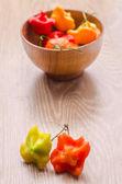 Hoade chilipeppar — Stockfoto