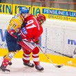 Stock Photo: ASIAGO, ITALY - DECEMBER 28: Unidentified hockey players compete
