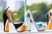 Zapatos en la tienda — Foto de Stock