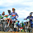 Unidentified riders — Stock Photo