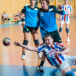 Handball players — Stock Photo