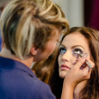 Make-up session — Stockfoto