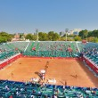 Stock Photo: Tennis arena