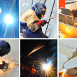 Stock Photo: Welding collage