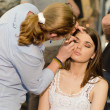 Make-up session — Stock Photo