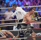 Boxing match — ストック写真