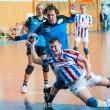 Handball players in action  — Stock fotografie