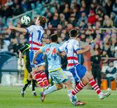 Fotbalové utkání — Stock fotografie