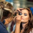 Make up session — Stock Photo