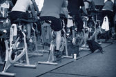 Spinning marathon challenge — Stock Photo