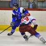 Hockey players — Stock Photo