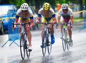 Cyclists — Stock Photo