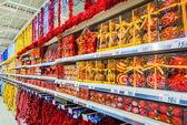 Inside the hypermarket — Stock Photo