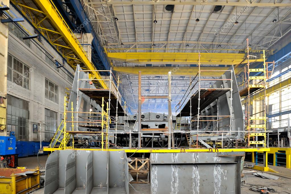 Ship Building Shoot Inside of