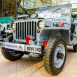 Jeep (Willis) , vintage cars display in Bucharest Classic Car Show 2012 — Stock Photo